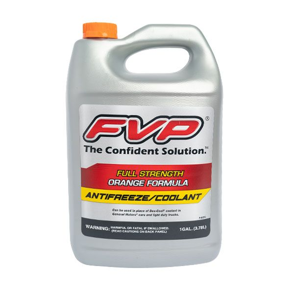 Orange Formula Antifreeze