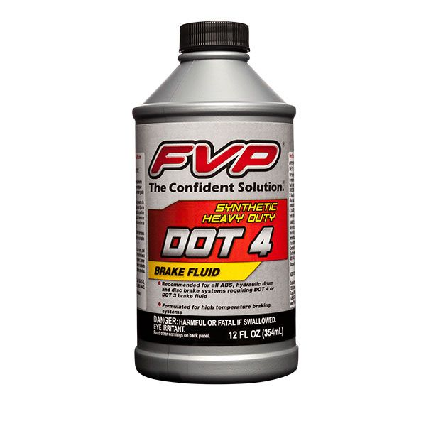 DOT3 and DOT4 Brake Fluid