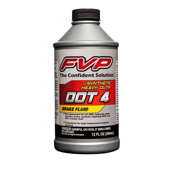 DOT3 and DOT4 Brake Fluid