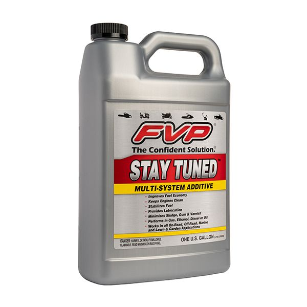 FVP Stay Tuned Multi-System Additive | Keeps Engines Clean