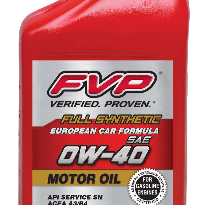 Full Synthetic European Formula Motor Oil