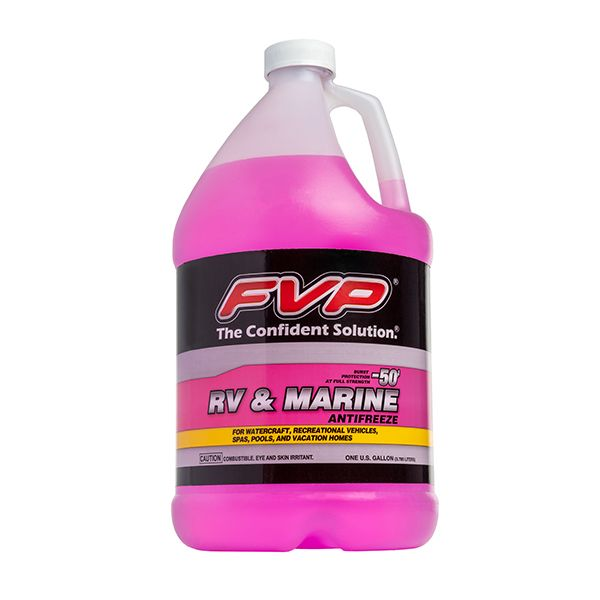 RV & Marine Antifreeze | Biodegradable Coolant | Pink