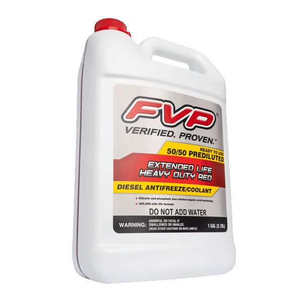 50/50 Prediluted Heavy Duty Red Antifreeze